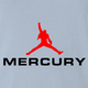Freddy Mercury Queen funny t-shirt light blue