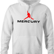 Freddy Mercury Queen funny hoodie white