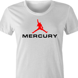 Freddy Mercury Queen funny tee white