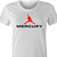 Freddy Mercury Queen funny t-shirt women's white