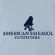 Funny american smeagol lord of the rings men's blue