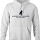 Funny american smeagol lord of the rings white hoodie
