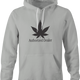 funny Weed Dealer - Authorized Dealer Parody t-shirt Ash Grey hoodie