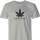 funny Weed Dealer - Authorized Dealer Parody men's t-shirt