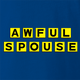 funny Awful Spouse Waffle House Mash-up royal blue t-shirt