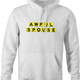 funny Awful Spouse Waffle House Mash-up white hoodie