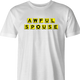 funny Awful Spouse Waffle House Mash-up white men's t-shirt