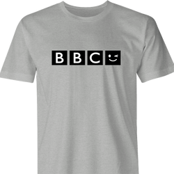 funny BBC Wink Parody men's t-shirt