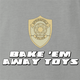 bakem away toys the simpsons Ash T-Shirt