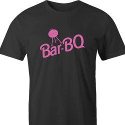 funny Barbie Doll BBQ Mashup men's t-shirt