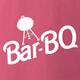 funny Barbie Doll BBQ Mashup Pink t-shirt