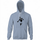 funny beans and banksy parody hoodie