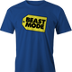 beast mode men's royal blue t-shirt