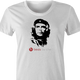 funny beats by che guevara parody women's white t-shirt