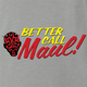 funny Better Call Saul Star Wars Mashup | Better Call Darth Maul ash grey t-shirt