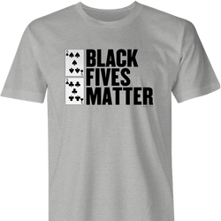 black fives matter white
