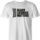 funny black lives matter men's white t-shirt