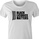 funny black licorice matters women's t-shirt
