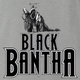 Funny Star Wars Bantha Black Panther mashup Ash Tee