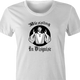 funny religion blessing in disguise t-shirt white women's