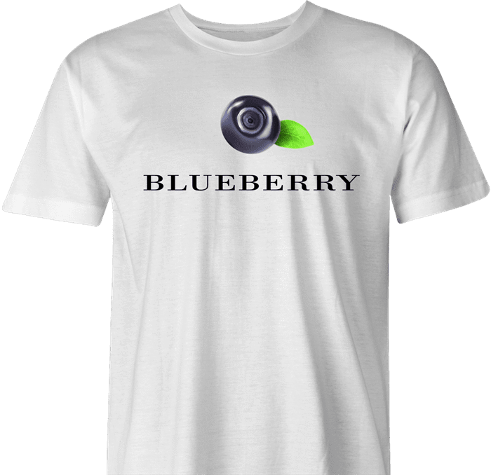 funny Hellmans mayonaisse Blueberry t-shirt white men's