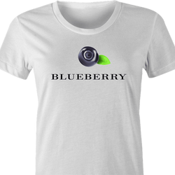 funny Hellmans mayonaisse Blueberry t-shirt white