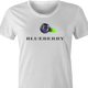funny Hellmans mayonaisse Blueberry t-shirt white women's