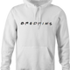 funny friends white hoodie