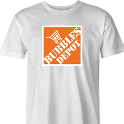 Funny the Wire - Bubble's Depot t-shirt white men's