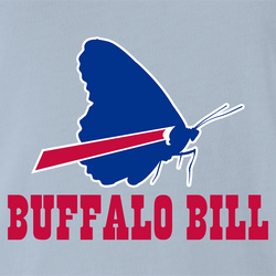 funny Buffalo Bill Silence of the Lambs - NFL Buffalo Bills Mashup men's t-shirt