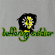 funny Buffering Soldier Internet Video Bob Marley Parody ash grey t-shirt