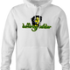 funny Buffering Soldier Internet Video Bob Marley Parody white hoodie