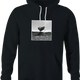 funny Bulldozer Jumping A Ramp Cool black hoodie