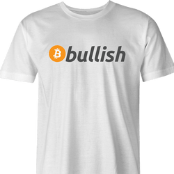 Funny Cryptocurrency Bitcoin - BTC bullish men's t-shirt