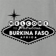 Funny beautiful Burkina Faso travel ash grey t-shirt