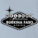 Funny beautiful Burkina Faso travel light blue t-shirt