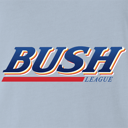 Funny Bush League Amateur Sports Beer Parody Men's T-Shirt