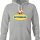 funny Butterbean Heavy Weight Boxer Butterball Mashup t-shirt Ash Grey hoodie