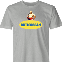 funny Butterbean Heavy Weight Boxer Butterball Mashup men's t-shirt