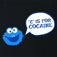 Cocaine Monster Parody - C is For Cocaine Black t-shirt