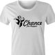 Funny chance the rapper monopoly card women's white t-shirt