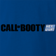 funny Booty Call - Call Of Duty Mashup Parody royal Blue t-shirt