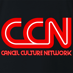 Funny Cancel Culture Network CNNParody Men's T-Shirt