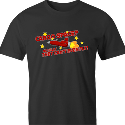 funny Cargo Space Play On Words jared zimmerman car-fix tv show men's t-shirt