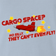 funny Cargo Space Play On Words jared zimmerman car-fix tv show Light Blue T-Shirt