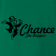 Funny chance the rapper monopoly card green t-shirt