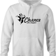 Funny chance the rapper monopoly card men's white hoodie