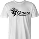 Funny chance the rapper monopoly card men's white t-shirt