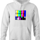 funny Channel 0 classic TV white hoodie