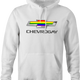 Funny Gay T-Shirt Chevrolet white hoodie